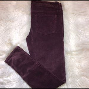 Corduroy AE Jeggings